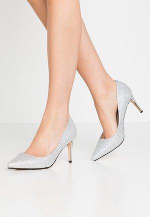FANNY - Classic heels - silver