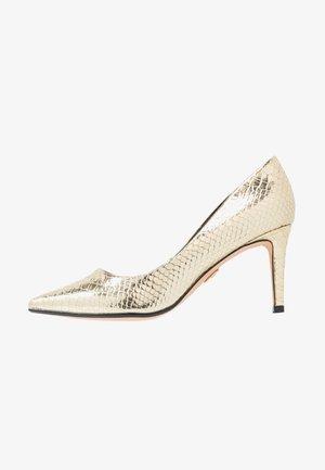 FANNY - Classic heels - gold