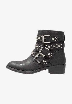 AMIRA - Kovbojské/motorkářské boty - black