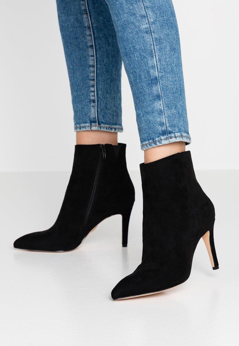 Buffalo - FALENA - Højhælede støvletter - black