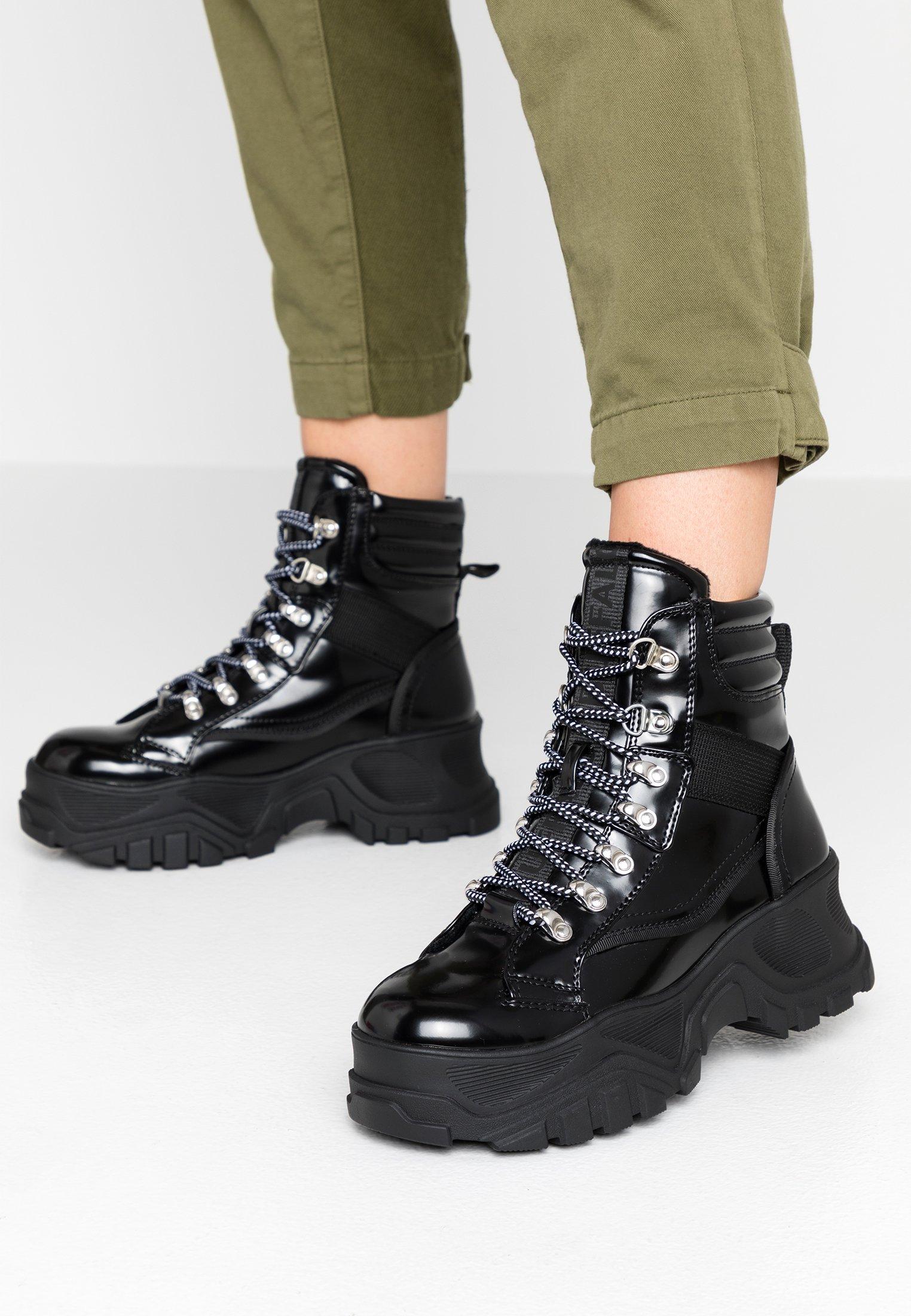 Buffalo FENDO - Boots à talons black