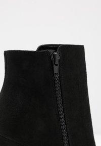 Buffalo - FERMIN - Kotníková obuv na vysokém podpatku - black - 2