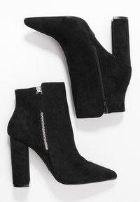 Buffalo - FERMIN - Kotníková obuv na vysokém podpatku - black - 3