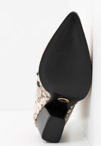 Buffalo - JIL - Boots à talons - natural beige - 6