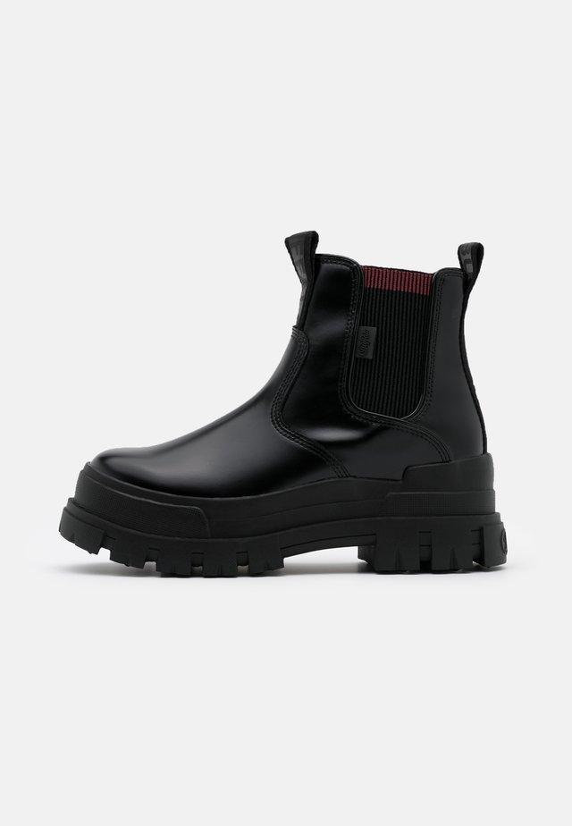 ASPHA CHELSEA - Kotníková obuv - black