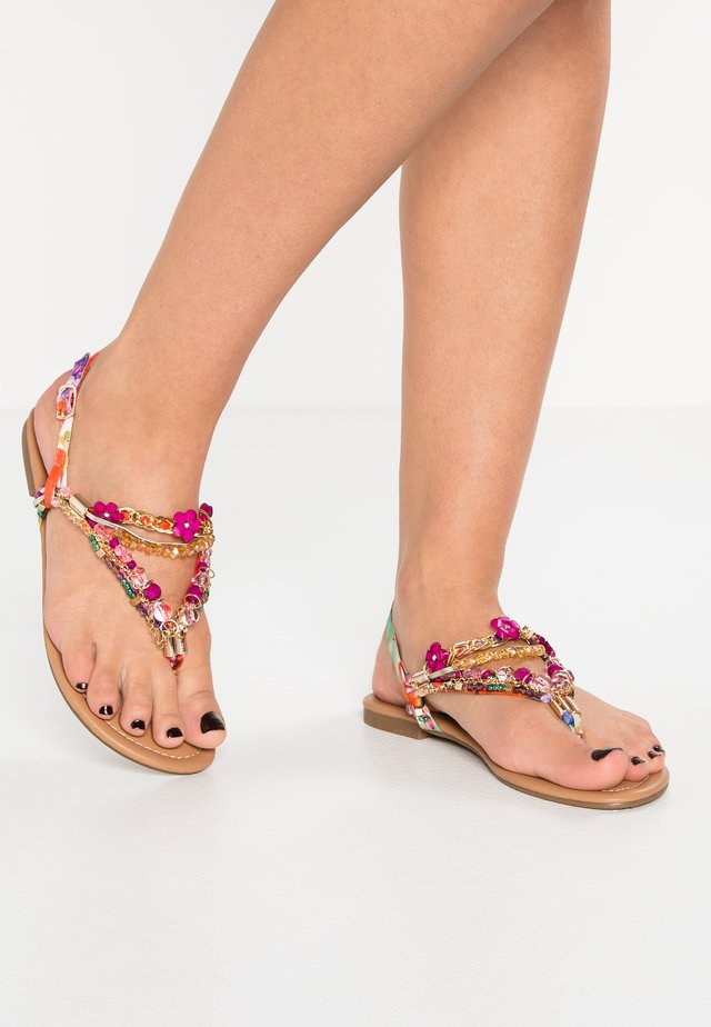 Flip Flops - purple/fuschia