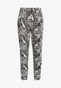 Buffalo - Trousers - black/cream - 4