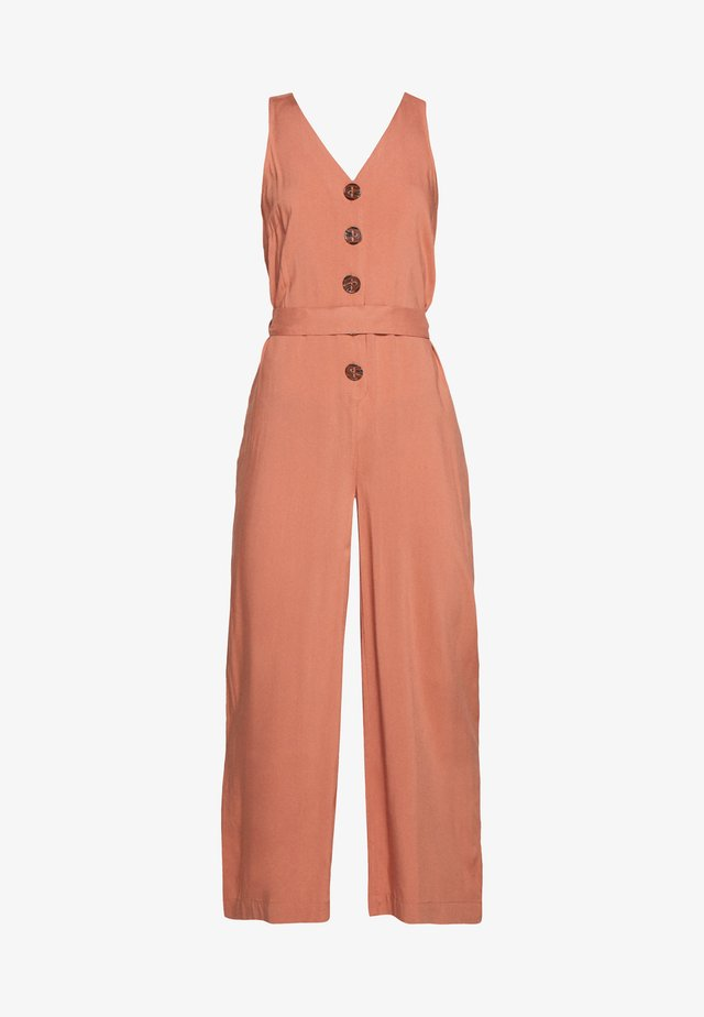 OVERALL THE BUTTON - Beach accessory - rose