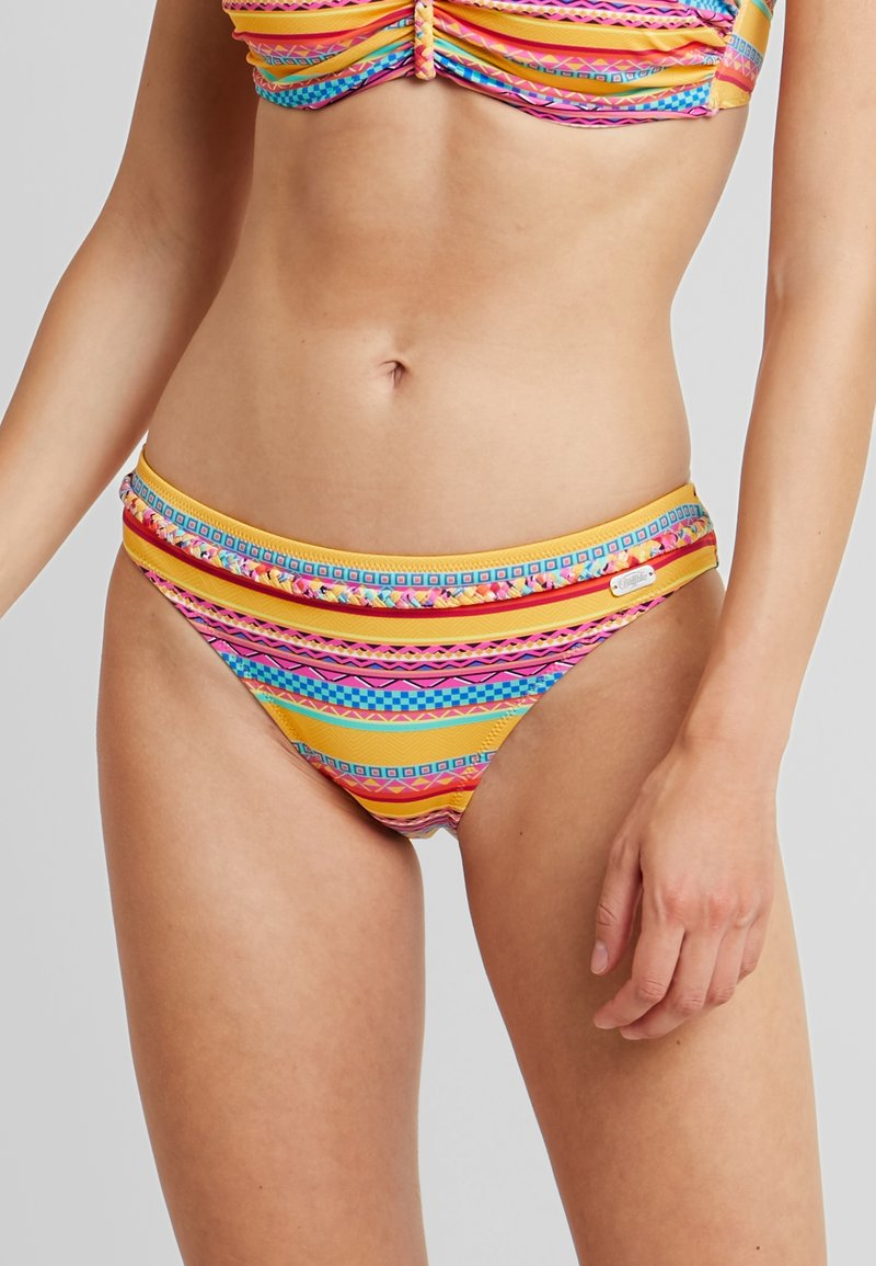 Buffalo - PANT BELT - Bikini-Hose - yellow