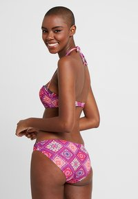 Buffalo - WIRE BANDEAU SET - Bikini - bordeaux - 2