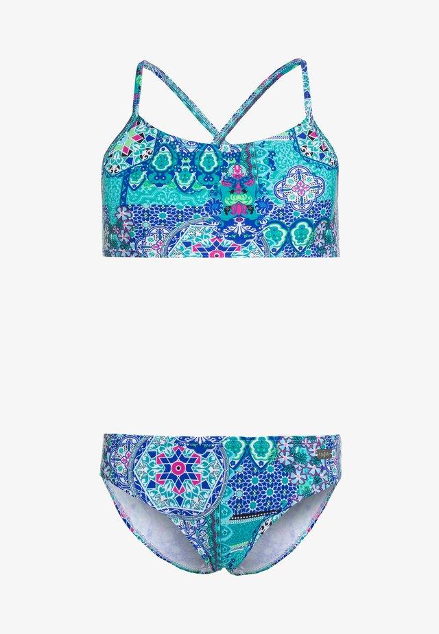 BUSTIER - Bikinit - turquoise