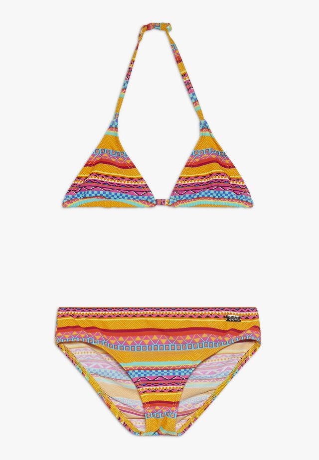 TRIANGEL SET - Bikini - yellow