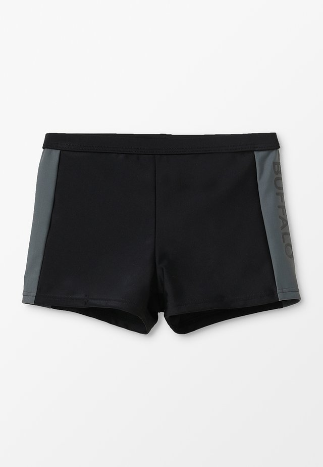 BOXERTRUNK - Badeshorts - black/grey