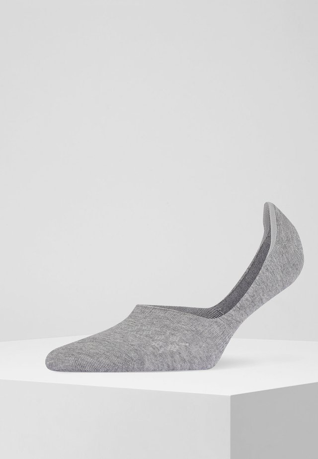 2 PACK - Trainer socks - light grey