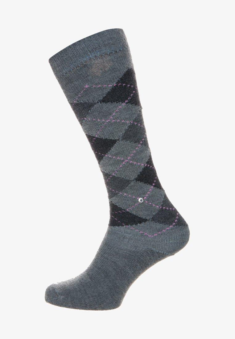 Burlington - WHITBY - Calcetines hasta la rodilla - grey