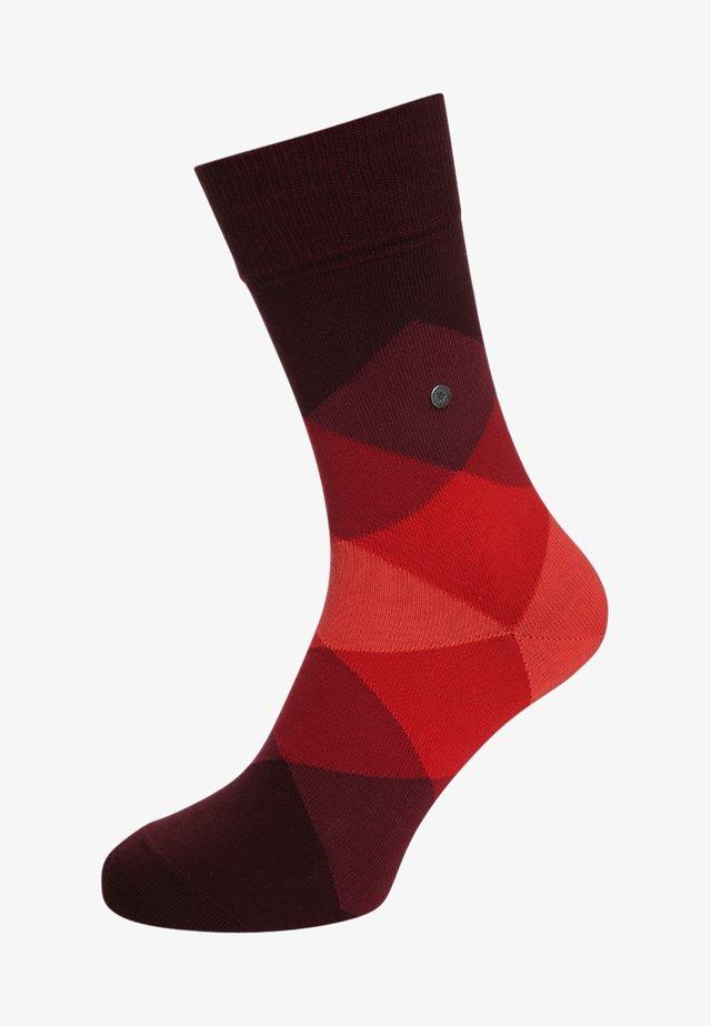 CLYDE - Socken - claret