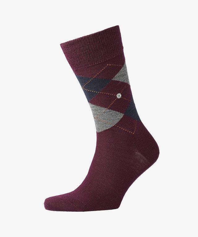 EDINBURGH - Socks - pink/orange