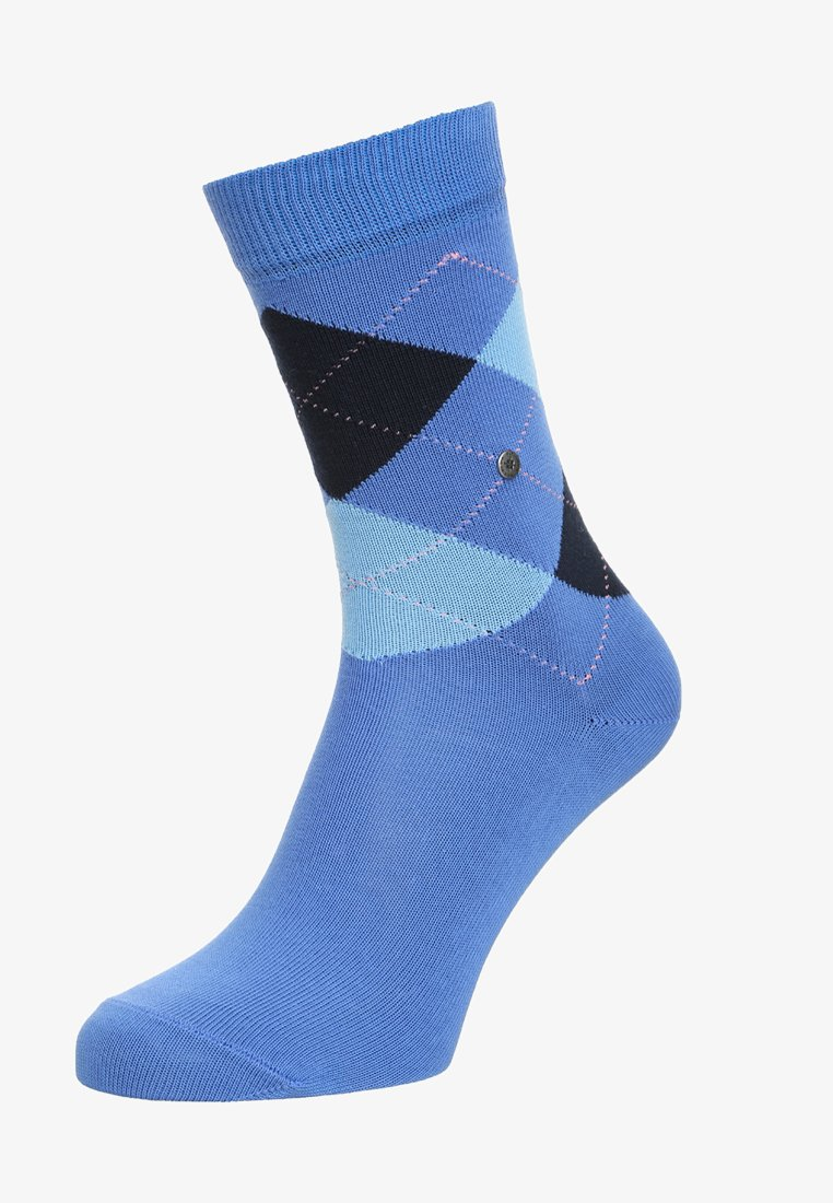 Burlington - QUEEN - Socken - river blue