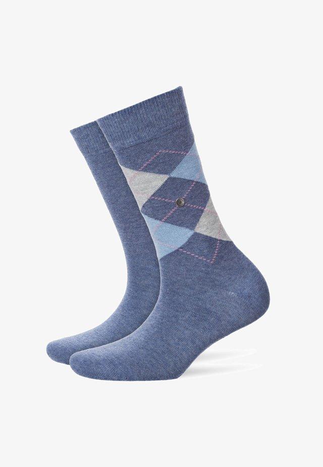 EVERYDAY MIX 2 PACK - Socks - light denim