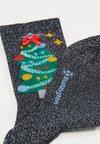 Burlington - UGLY CHRISTMAS - Socks - marine