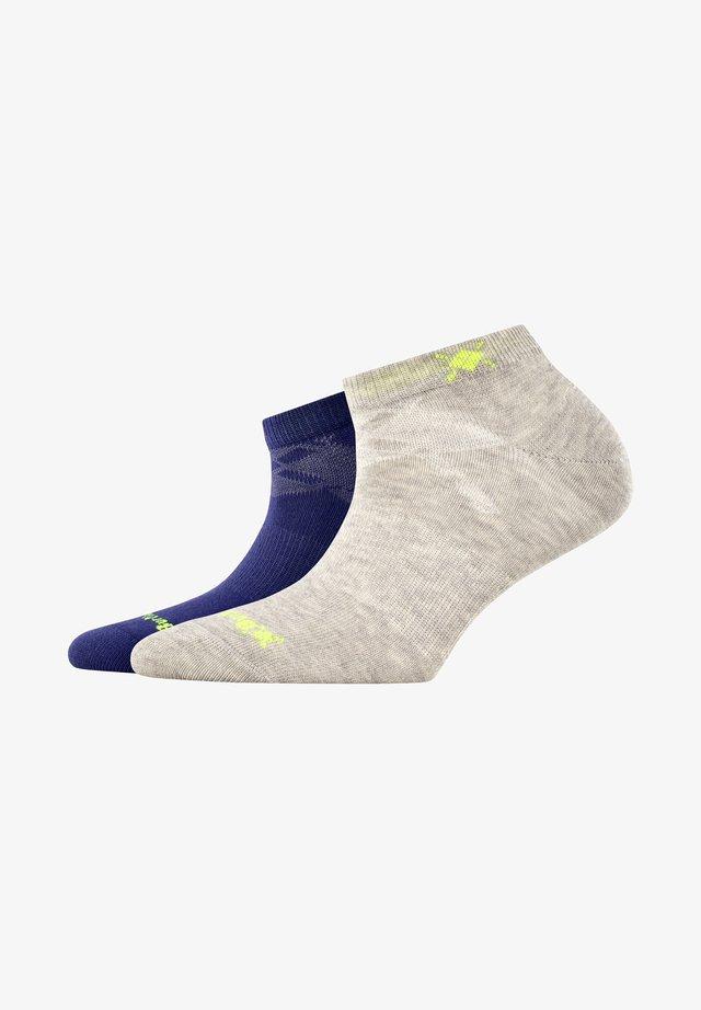 2 PACK - Socks - blue print (6005)