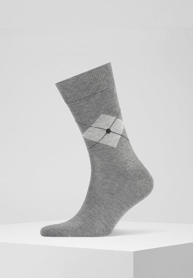 Socks - steel mel. (3165)