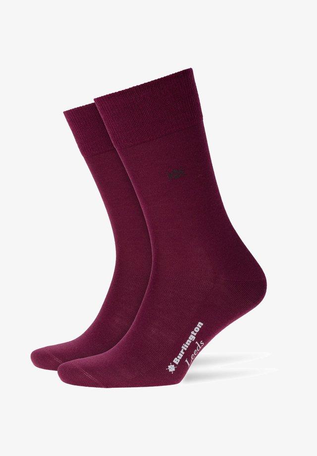 Socks - merlot (8005)