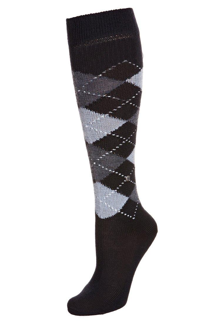 Burlington - WHITBY - Knee high socks - marine