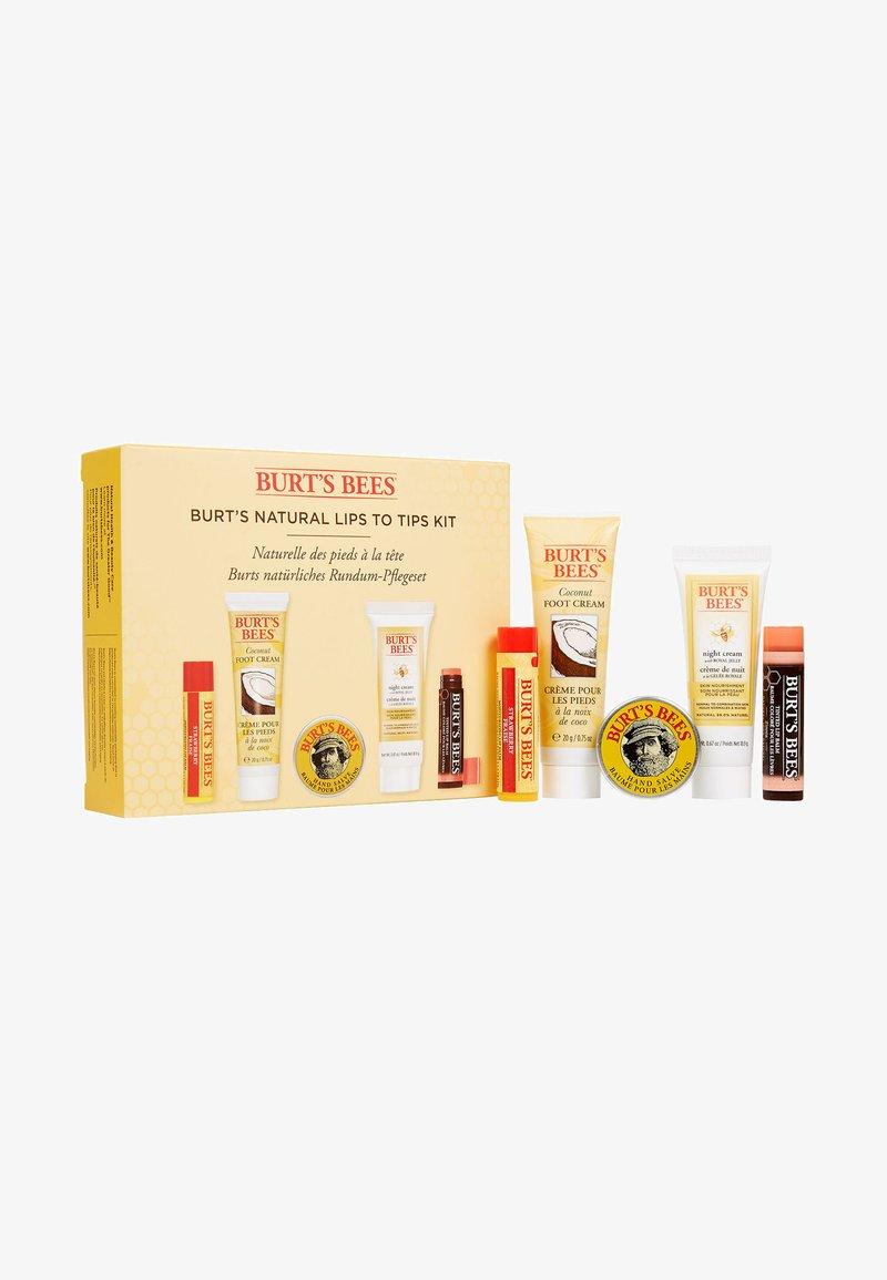 Burt's Bees - LIPS TO TIPS KIT - Skincare set - -