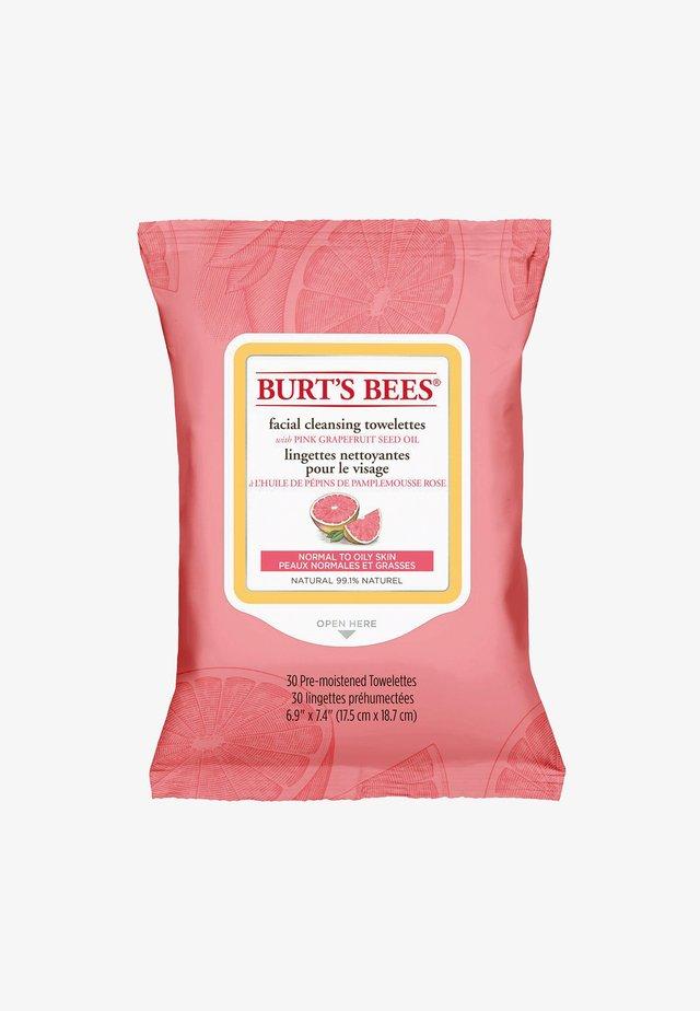 FACIAL CLEANSING TOWELETTES 30 PACK - Gesichtsreinigung - pinkgrapefruit