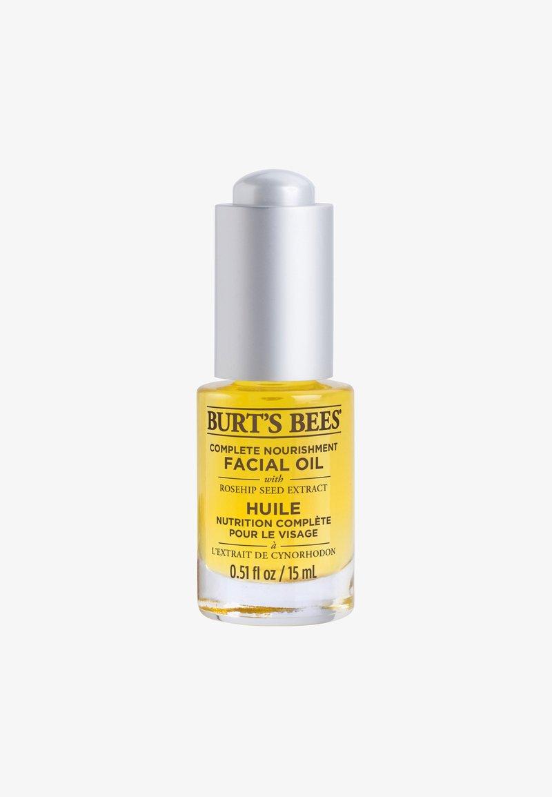 Burt's Bees - COMPLETE NOURISHMENT FACIAL OIL 15ML - Ansigtsolie - -