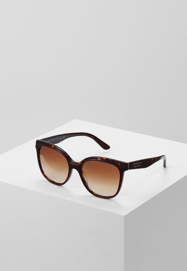 Sonnenbrille - bordeaux/havana