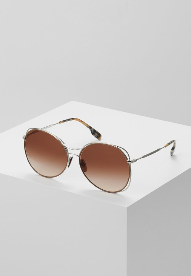 Sonnenbrille - silver-coloured/beige