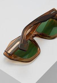 Burberry - Lunettes de soleil - transparent brown - 4