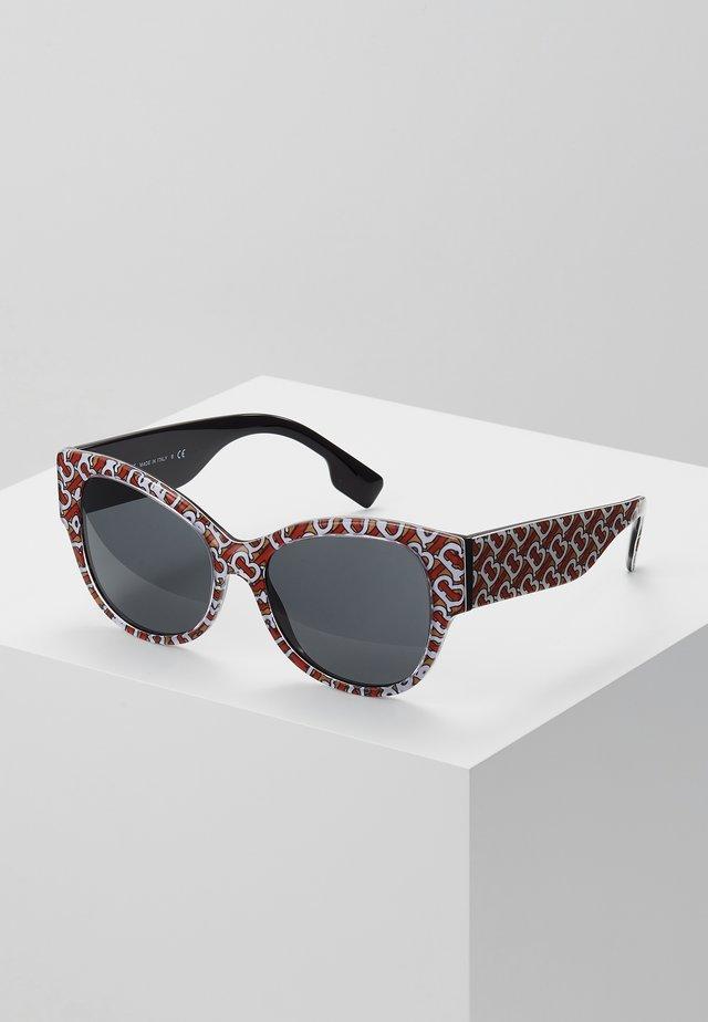 Sonnenbrille - beige/grey