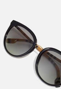 Burberry - Lunettes de soleil - black/gold-coloured - 3