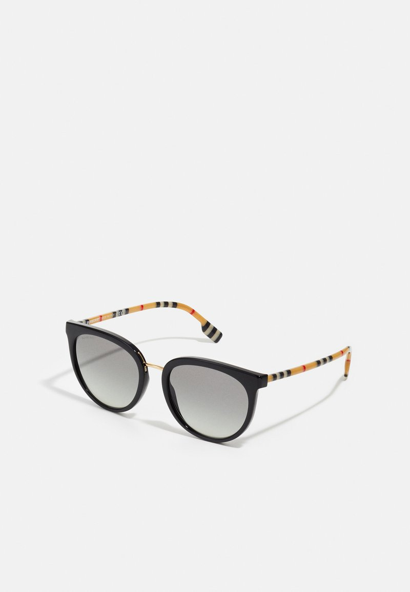 Burberry - Lunettes de soleil - black/gold-coloured