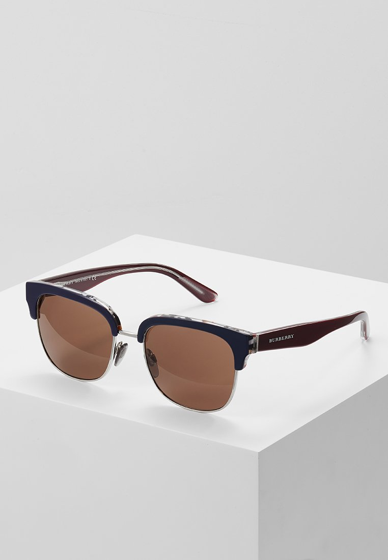 Burberry - Zonnebril - top blue/silver-coloured/brown