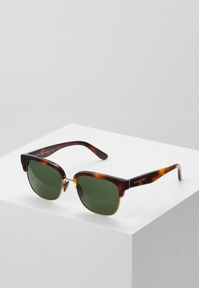 Sonnenbrille - light havana/light gold/green