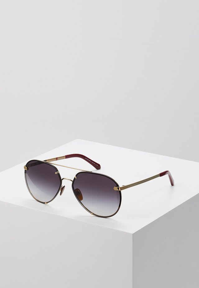 Sonnenbrille - light gold-coloured/grey gradient