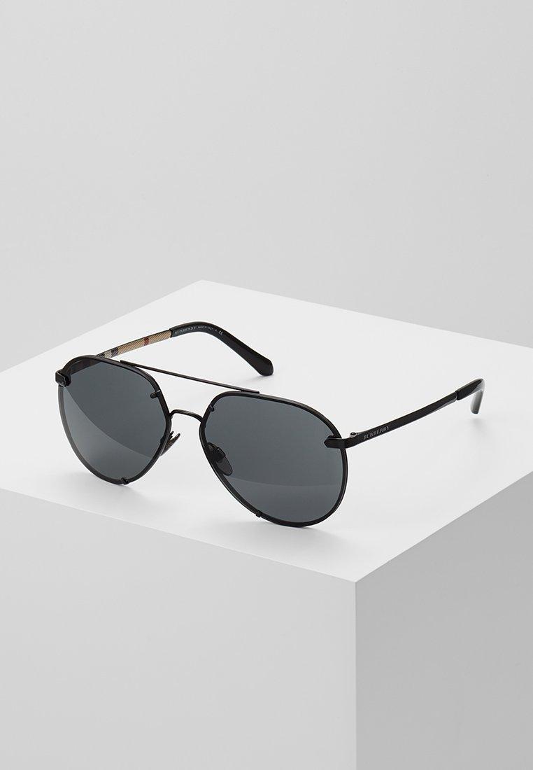 Burberry - Lunettes de soleil - black/grey