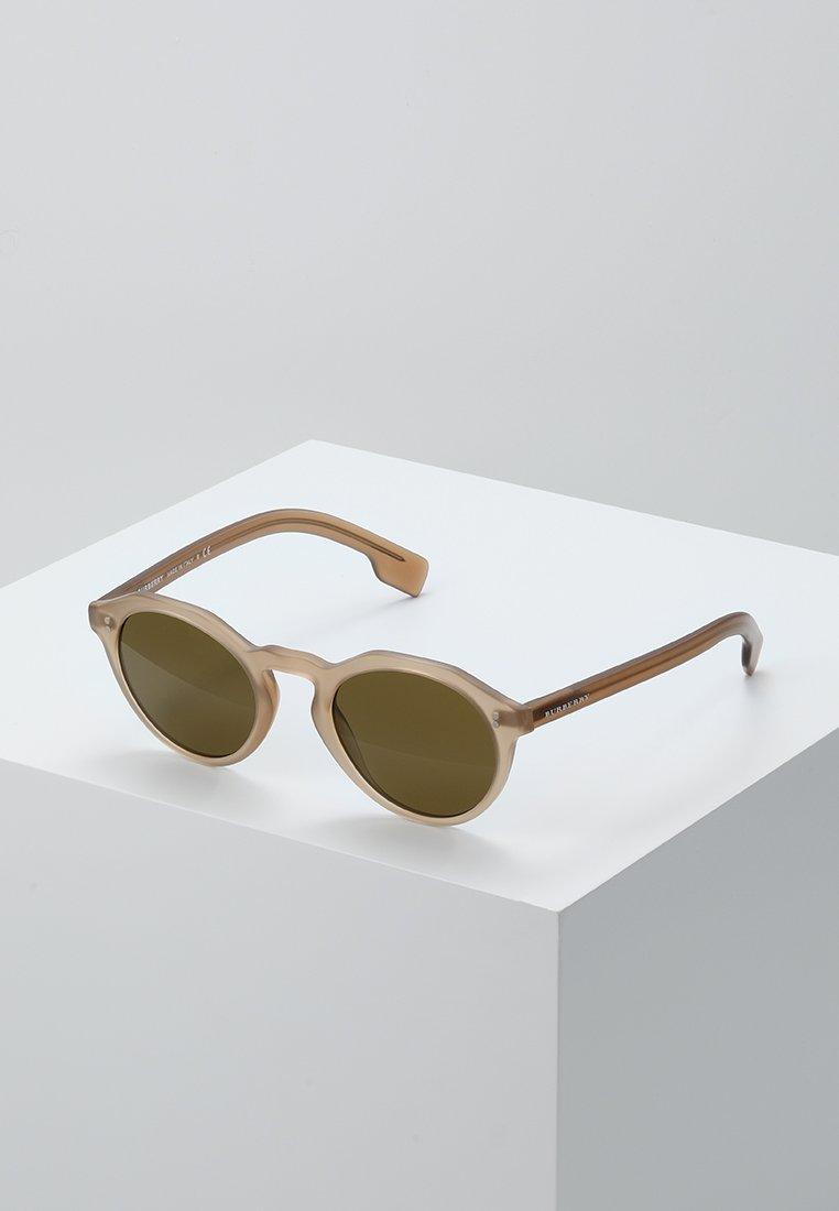Burberry - Lunettes de soleil - matte brown
