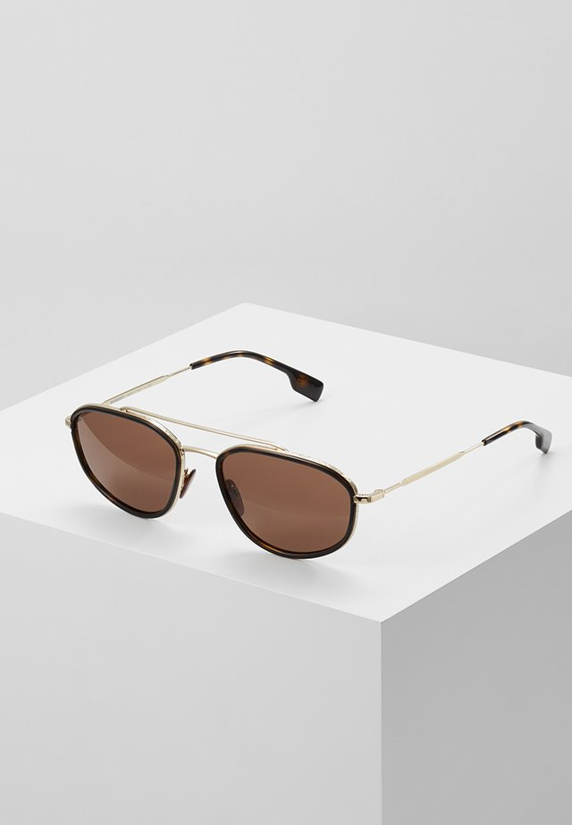 Lunettes de soleil - light gold-coloured
