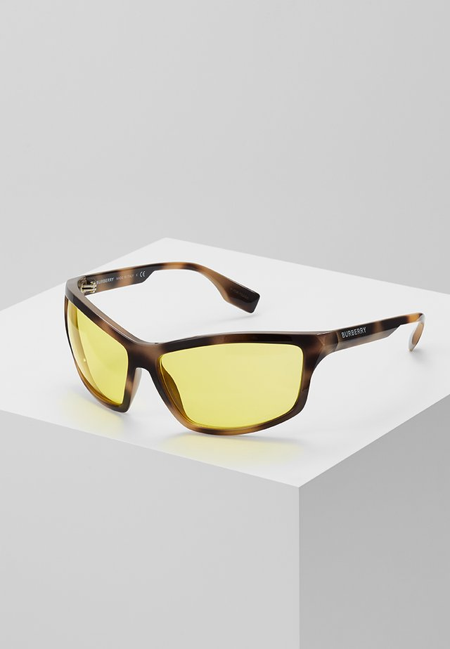 Sonnenbrille - brown/yellow
