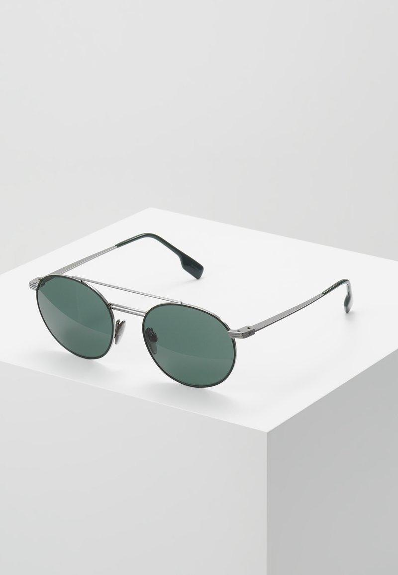 Burberry - Solglasögon - gunmetal/matte green