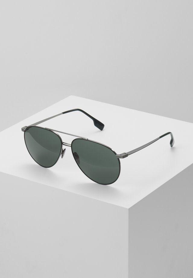 Sonnenbrille - gunmetal/matte green