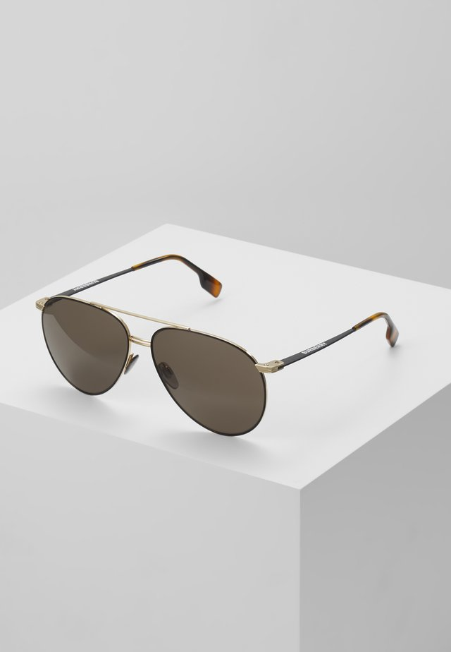 Sonnenbrille - gold-coloured/matte black