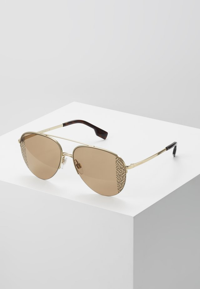 Sonnenbrille - light gold