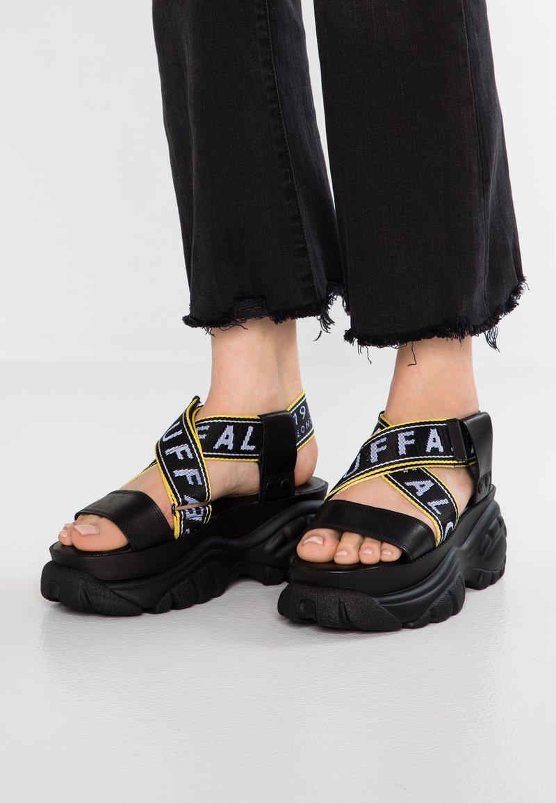 Buffalo London - Platform sandals - black