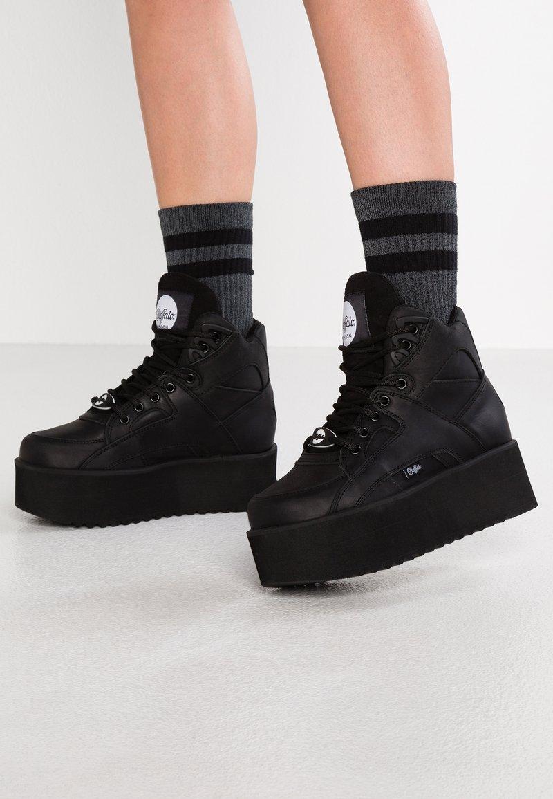 Buffalo London - Zapatillas altas - black